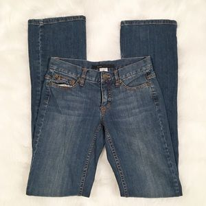 Marc Jacobs denim blue jeans slim bootcut size 0